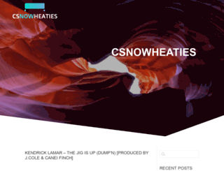 csnowheaties.com screenshot