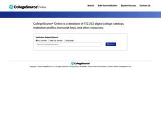 cso.collegesource.com screenshot