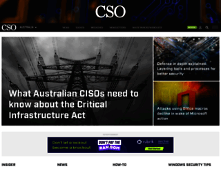 cso.com.au screenshot