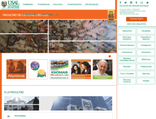 csoc.usal.edu.ar screenshot