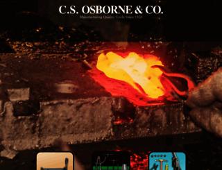 csosborne.com screenshot