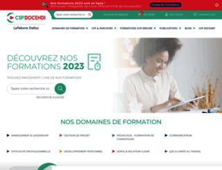 csp-training.com screenshot