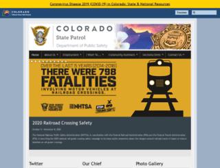 csp.state.co.us screenshot