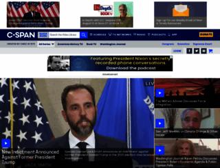 cspan.org screenshot