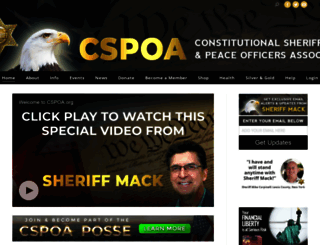 cspoa.org screenshot