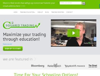 csquaredtrading.com screenshot