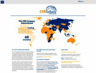 csr-company.ch screenshot