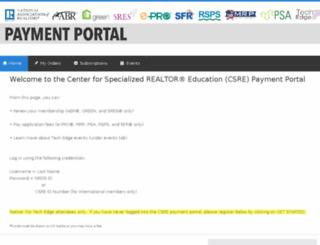 csreportal.cobaltsaas.com screenshot