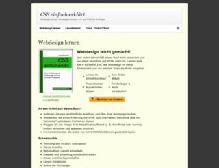 css-einfach.de screenshot