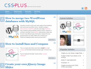 css-plus.com screenshot