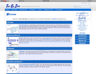 css.wikidot.com screenshot