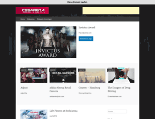cssarena.de screenshot