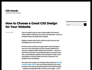 cssawds.com screenshot