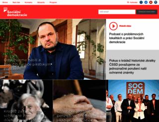 cssd.cz screenshot
