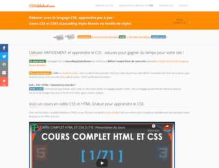 cssdebutant.com screenshot