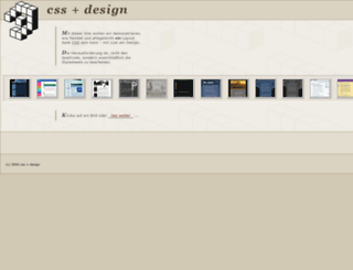 cssdesign.e-workers.de screenshot