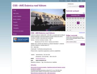 cssdubnica.sk screenshot