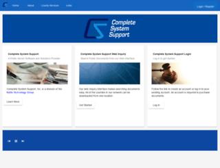 cssiwv.com screenshot