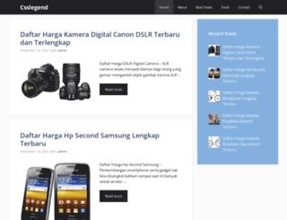 csslegend.com screenshot