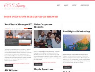 cssluxury.com screenshot