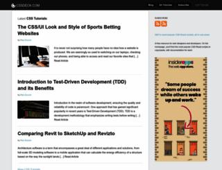cssnewbie.com screenshot