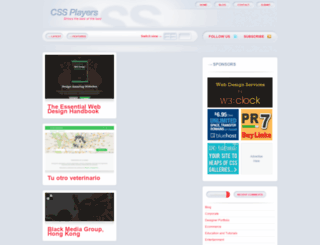 cssplayers.com screenshot