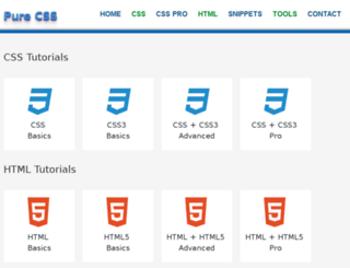 csspure.com screenshot