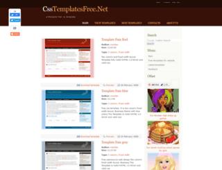 csstemplatesfree.net screenshot