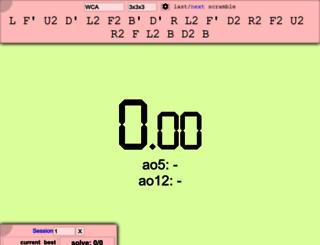 cstimer.net screenshot