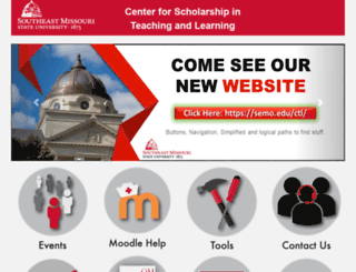 cstl.semo.edu screenshot