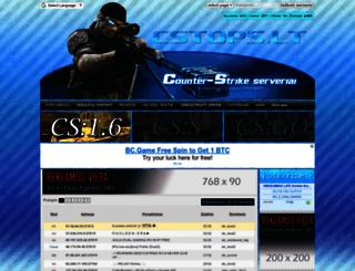 cstops.lt screenshot