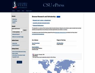 csuepress.columbusstate.edu screenshot