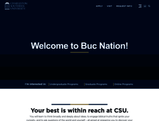 csuniv.edu screenshot