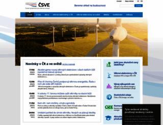 csve.cz screenshot