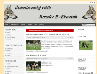 csvlcak.cz screenshot