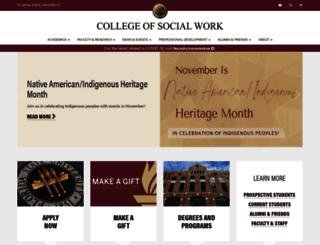 csw.fsu.edu screenshot