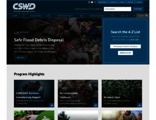 cswd.net screenshot