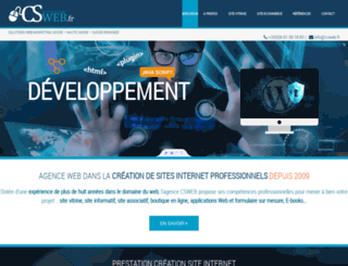 csweb.fr screenshot