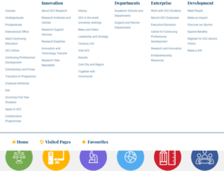 csweb.ucc.ie screenshot