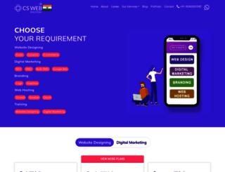 cswebsolution.com screenshot