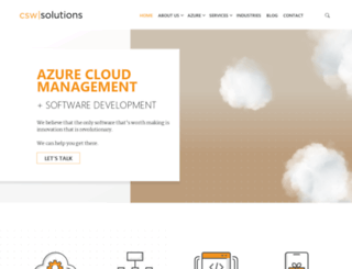 cswsolutions.com screenshot