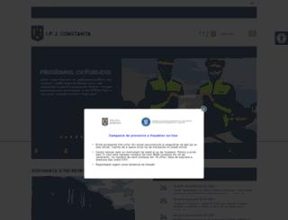 ct.politiaromana.ro screenshot