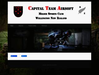ctaairsoft.co.nz screenshot