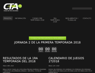 ctacaracas.org screenshot