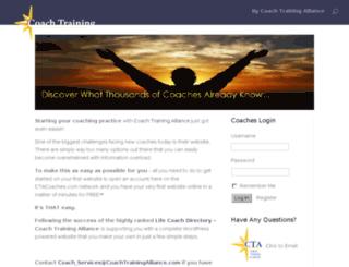 ctacoaches.com screenshot