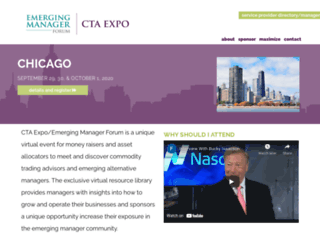 ctaexpo.com screenshot