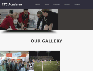 ctcacademy.com screenshot