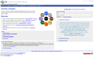 ctdbase.org screenshot