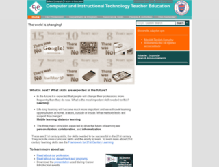 cte.bilkent.edu.tr screenshot