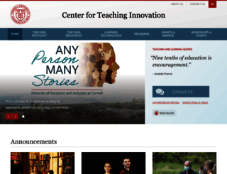 cte.cornell.edu screenshot